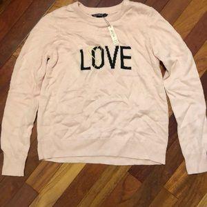 Victoria's Secret Love Sweater
